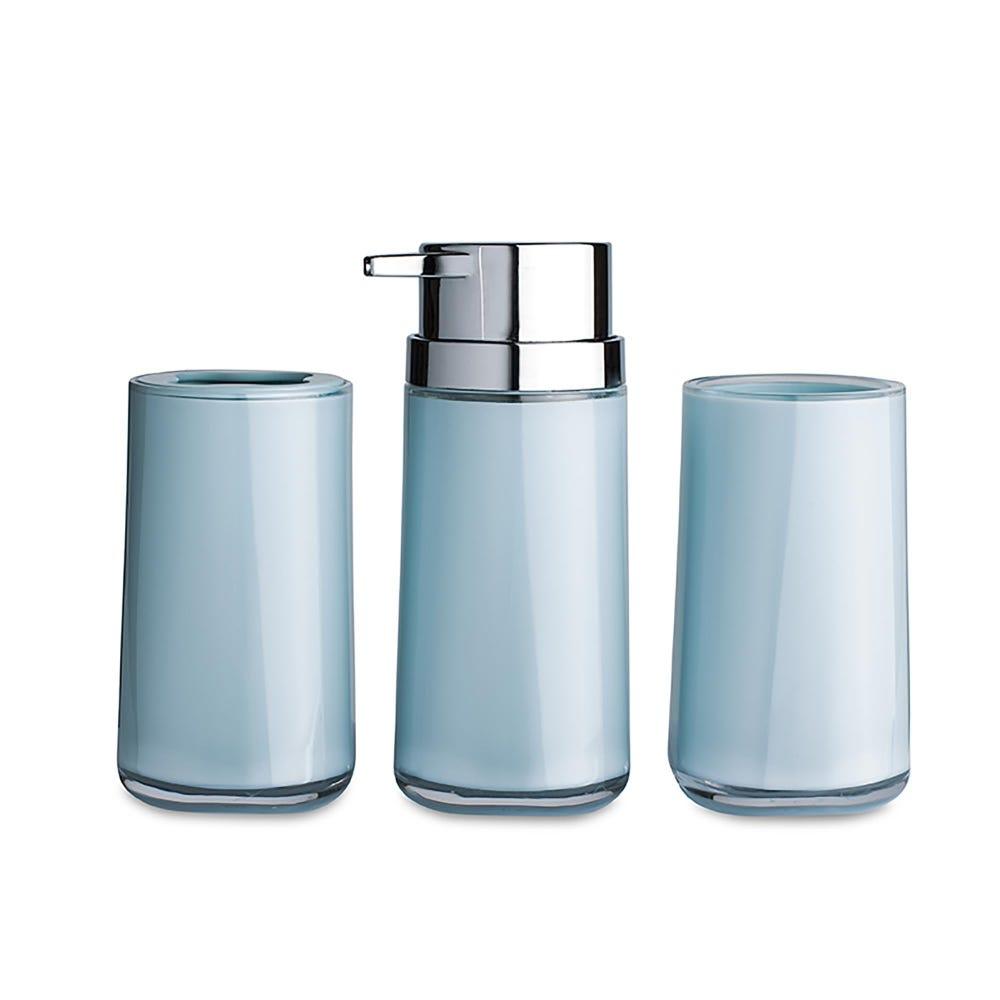 90072_KSP_Avanti_Acrylic_Bath_Accessory_Combo___Set_of_3__Blue