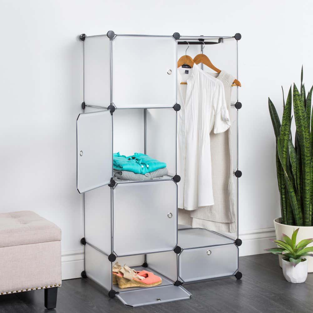 90195_KSP_Closet_Cube_Plastic_Wardrobe__White