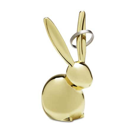 90206_Umbra_Zoola_Die_Cast_Zinc_'Bunny'_Ring_Holder__Brass