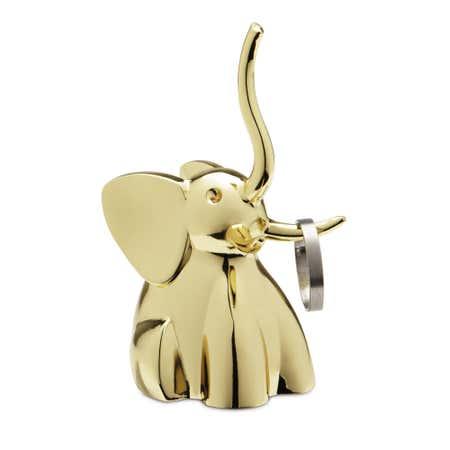 90208_Umbra_Zoola_Die_Cast_Zinc_'Elephant'_Ring_Holder__Brass