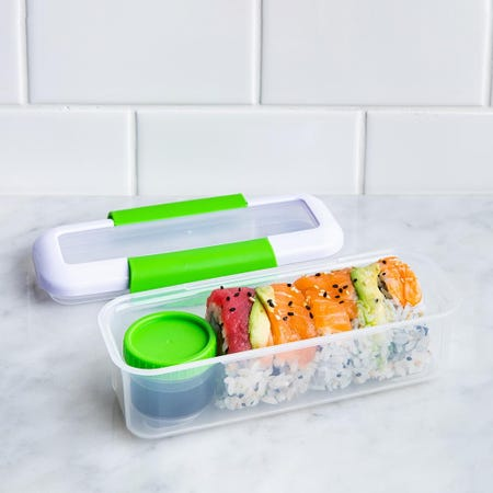 90318_Locksy_Click_'N'_Go_411ml_Snack_and_Dip_Container__Green