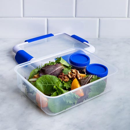 90325_Locksy_Click_'N'_Go_988ml_Lunch_Box_Container__Blue