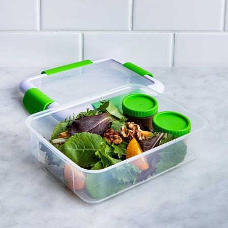 90326_Locksy_Click_'N'_Go_988ml_Lunch_Box_Container__Green