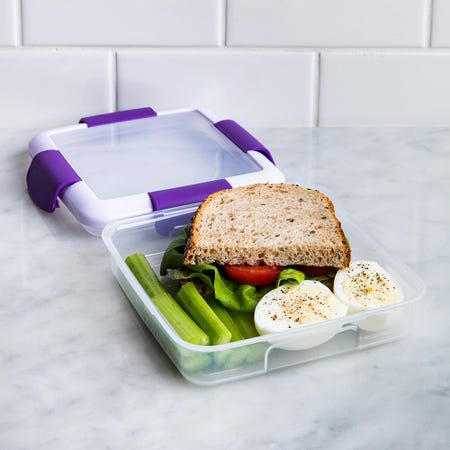 90344_Locksy_Click_'N'_Go_450ml_Sandwich_Container_Box__Purple
