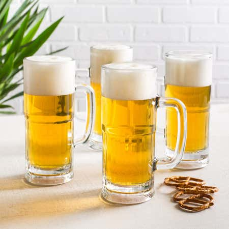 90544_Libbey_Craft_Brew_Lager_Stein_Beer_Glass___Set_of_4