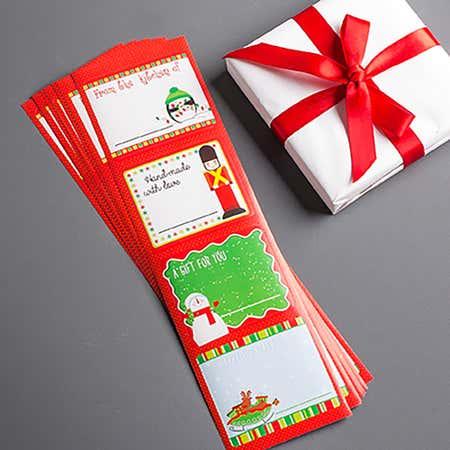 90742_CTG_Santas_Secret_'Kitchen'_Gift_Tags___Set_of_32__Asstd_