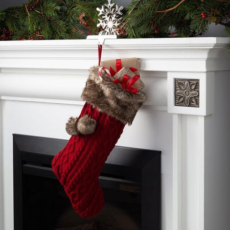 90926_KSP_Christmas_Knit_Stocking_with_Fur_Cuff__Red