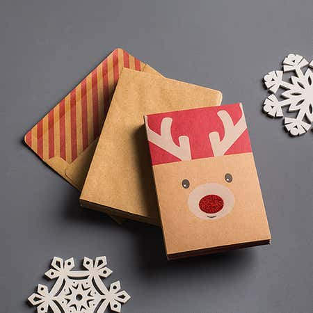 91032_Expressive_Design_Group_Christmas_'Petite___Natural'_Card___Envelope