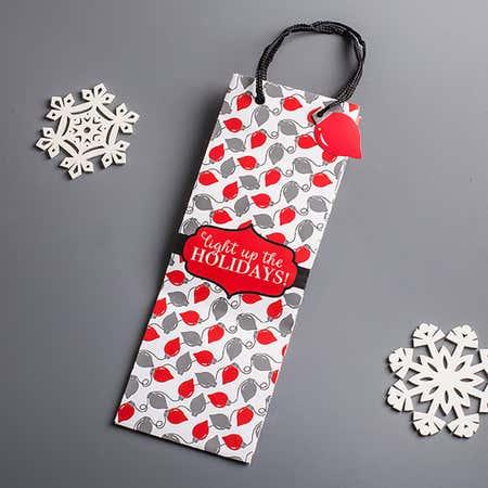 91181_Expressive_Design_Group_Christmas_Heavyweight_Bottle_Gift_Bag__Multi