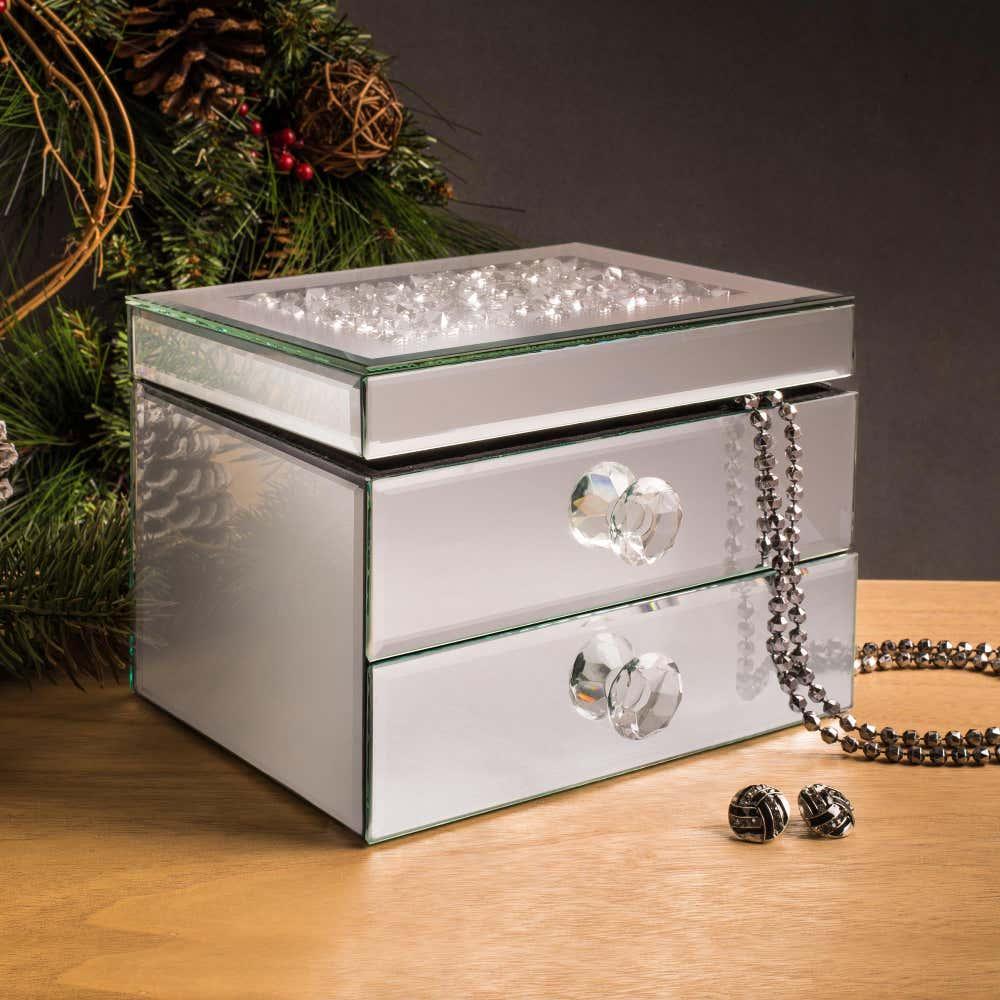 91293_KSP_Mirror_'2_Drawer'_Jewellery_Box__Silver