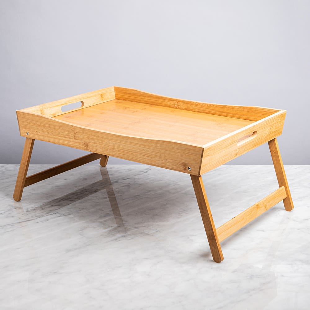 KSP Swoop Folding Bed Tray (Natural)