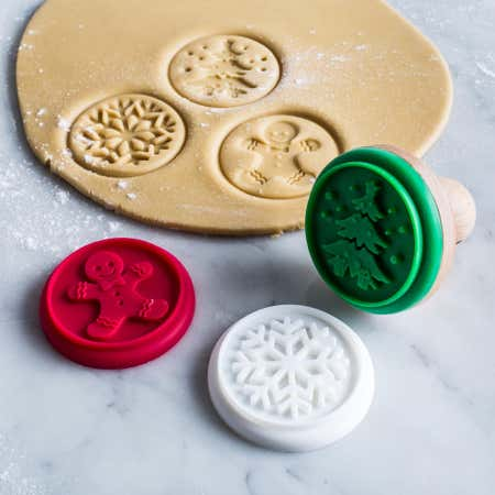 91443_KSP_Christmas_Cook_'Assorted'_Silicone_Cookie_Stamp___Set_of_3__Red_Green_White