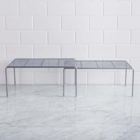 91606_KSP_Mesh_Expandable_Kitchen_Shelf__Silver