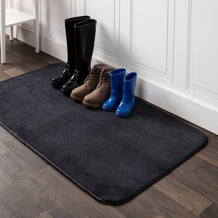 91614_Harman_Luxe_Plush_Boot_Shoe_Drying_Mat__Black