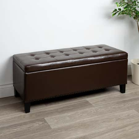 91660_KSP_Whitney_Leatherette_Storage_Bench__Brown