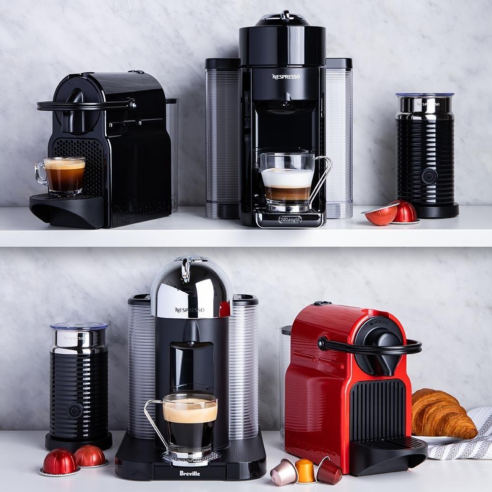 Nespresso By De'Longhi Inissia Espresso Maker with Milk ...