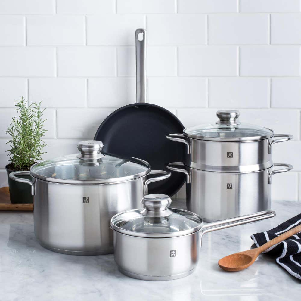 92094_ZWILLING®_Twin_Nova_Cookware_Combo___Set_of_8__Brushed_St_Steel