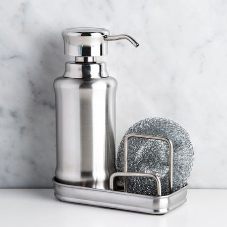 92195_iDesign_York_Ergo_Soap_Pump___Scrubby_Centre__Stainless_Steel