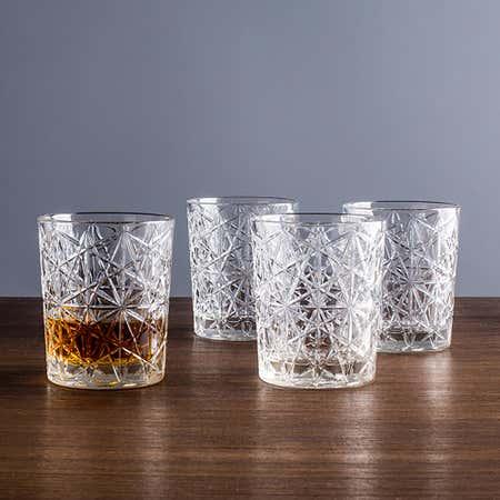 92199_Luigi_Bormioli_Italian_Table_Stories_'Lounge'_Dof_Glass___Set_of_4__Clear