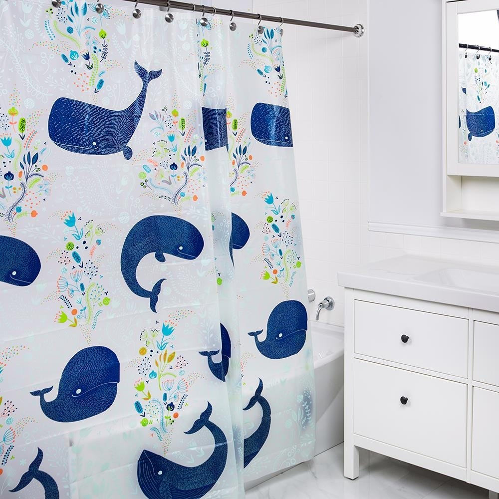 92343_Splash_PEVA_'Baleen'_Shower_Curtain__Blue