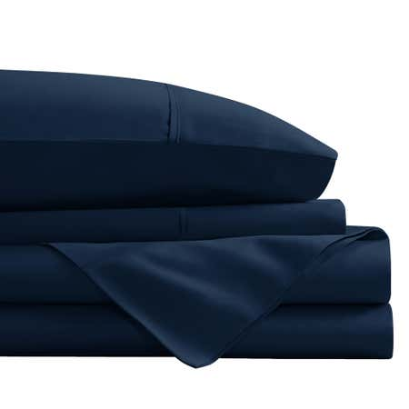 92387_Cathay_Home_1800_Series_100__Microfiber_Queen_Sheet_Set__Navy