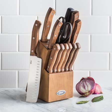 92476_Oster_Whitmore_Wood_Knife_Block_with_Knives___Set_of_14