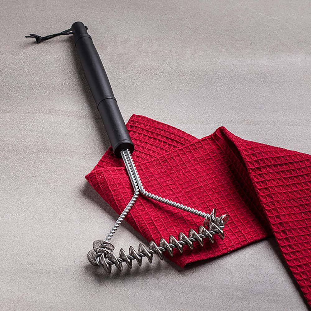 92579_KSP_Epicure_Bbq_Cleaning_Brush_Spiral_Mesh__Black_Stainless_Steel