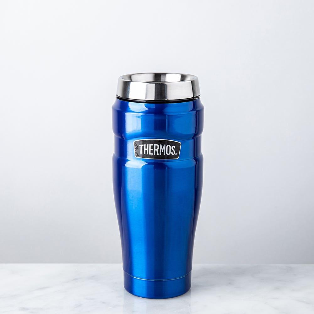 Thermos Stainless King Thermal Travel Mug No Handle (Royal Blue)