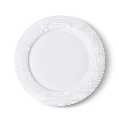 92734_KSP_A_La_Carte_'Diamond'_Porcelain_Dinner_Plate__White
