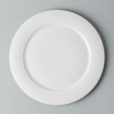 92734_KSP_A_La_Carte_'Diamond'_Porcelain_Dinner_Plate__White