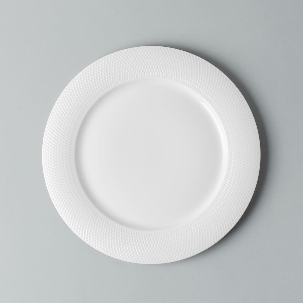 KSP A La Carte 'Diamond' Porcelain Side Plate
