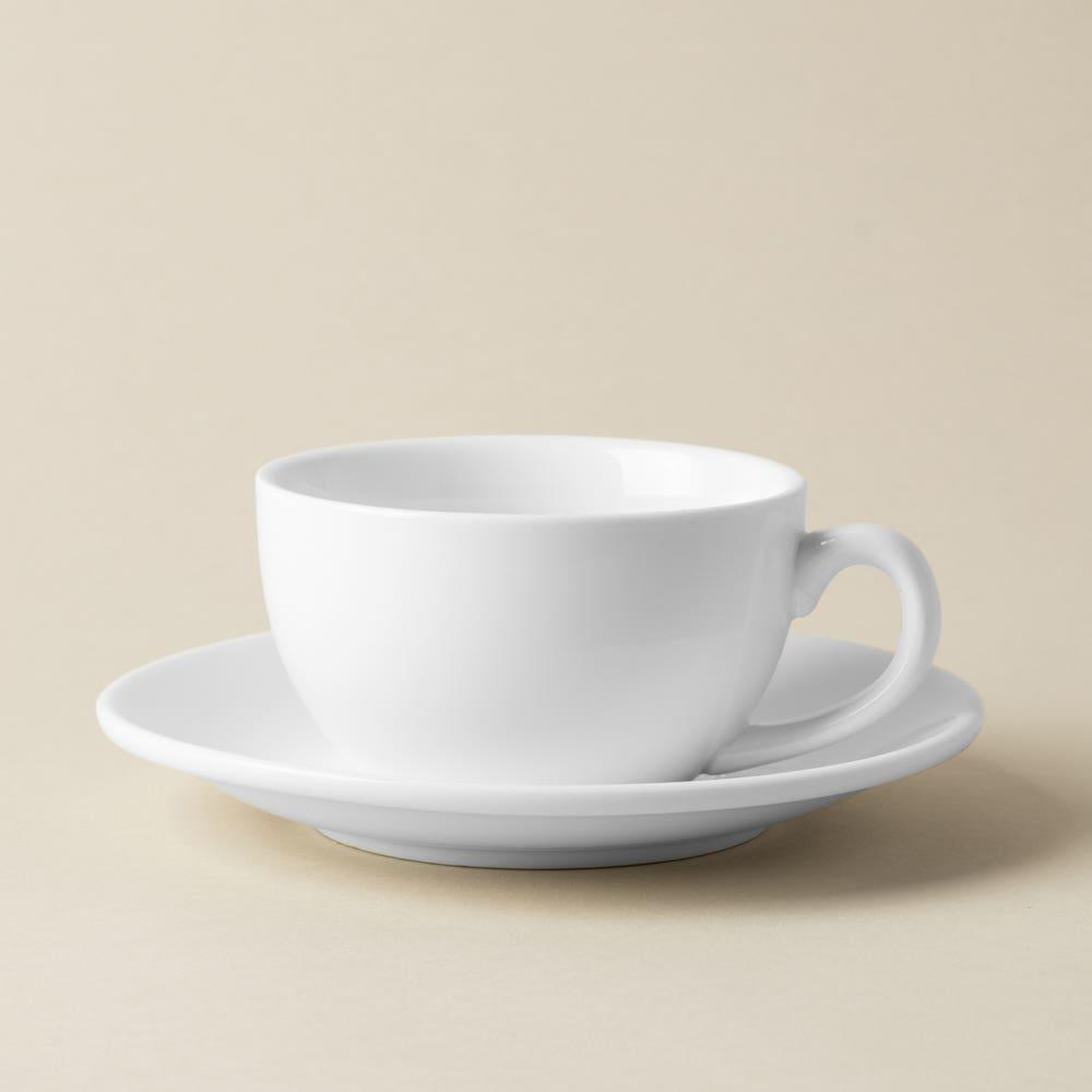 KSP A La Carte 'Oxford' Porcelain Teacup with Saucer