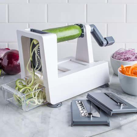 92862_KSP_Veg_Prep_'Table_Top'_Spiral_Vegetable_Slicer__White_Grey