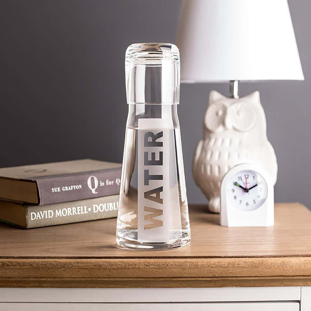 92865_KSP_Hydrate_Water_Carafe_with_Glass__Clear