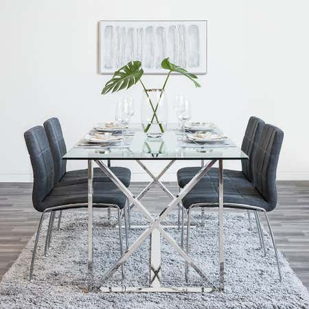 92955_KSP_Xframe_Dining_Table__Chrome