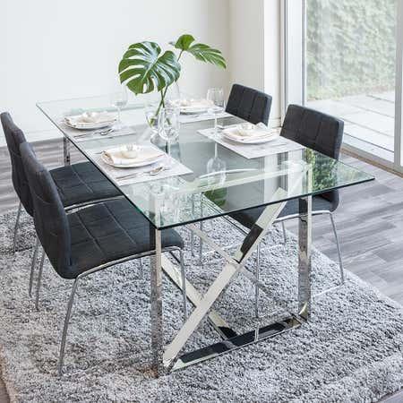 92955_KSP_Xframe_Dining_Table__Chrome
