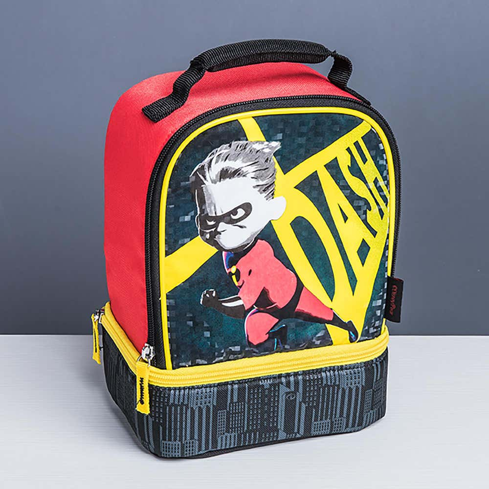 92968_Thermos_Licensed_'Incredibles'_Insulated_Novelty_Lunch_Bag__Red_Yellow_Grey