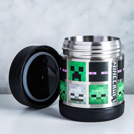 92981_Thermos_Licensed_Minecraft_Creeper_Funtainer_Thermal_Food_Jar