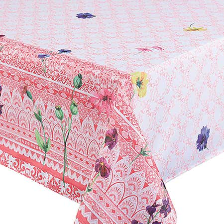 93009_Texstyles_Printed_'Border_Criss_Cross'_58__x_78__Tablecloth__Rose