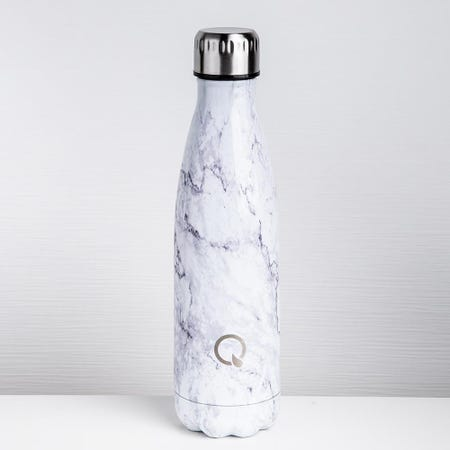 93026_KSP_Quench_'Marble'_500ml_Double_Wall_Water_Bottle__White