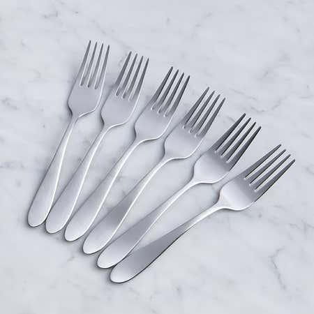 93075_Splendide_'Amalfi'_Salad_Fork___Set_of_6__Stainless_Steel