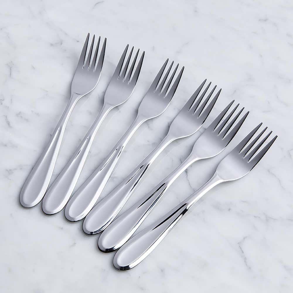 93079_Splendide_'Caranta'_Dinner_Fork___Set_of_6__Stainless_Steel