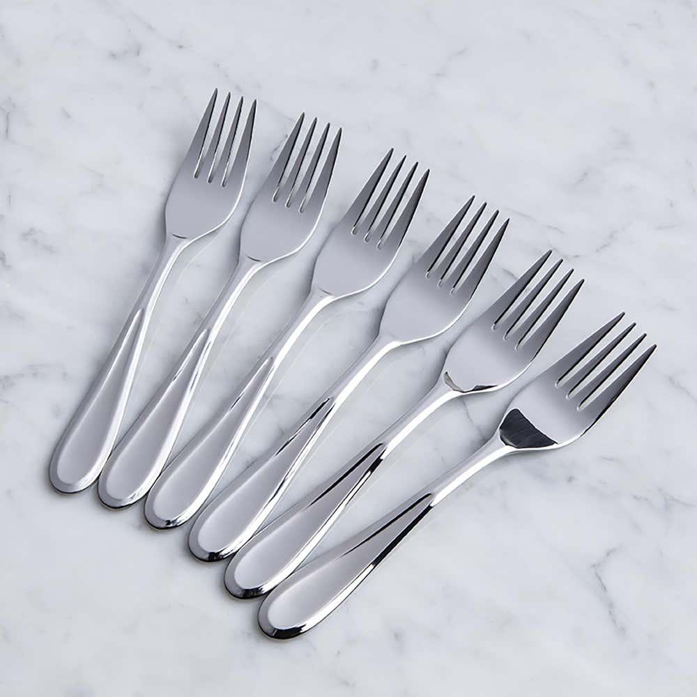93080_Splendide_'Caranta'_Salad_Fork___Set_of_6__Stainless_Steel