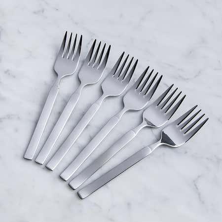 93085_Splendide_'Solara'_Salad_Fork___Set_of_6__Stainless_Steel