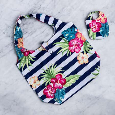 93090_KSP_Carry_'Hibiscus'_Shopping_Bag__Multi_Colour