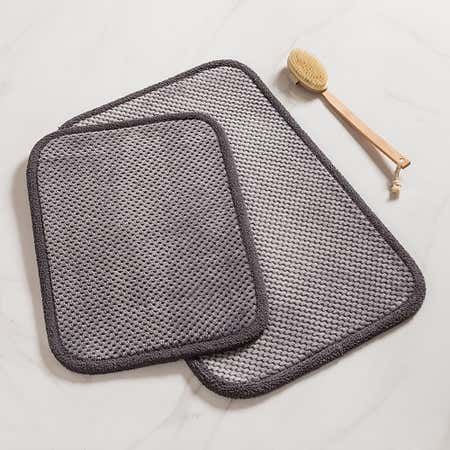 93111_Harman_Madame_Bain_Microfiber_Bathmat___Set_of_2__Charcoal
