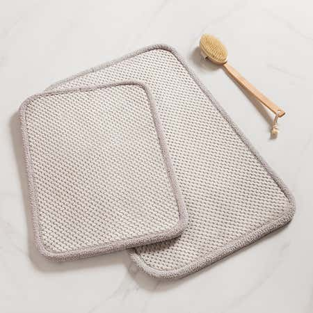 93113_Harman_Madame_Bain_Microfiber_Bathmat___Set_of_2__Light_Grey