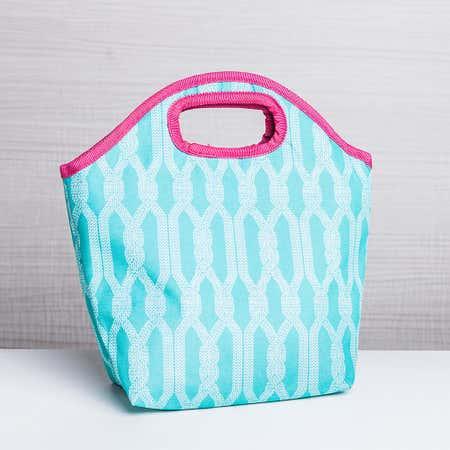93152_KSP_Bella_'Crochet'_Insulated_Lunch_Bag__Light_Blue