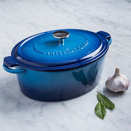 93360_Henckels_International_4_2L_Enamel_Cast_Iron_Oval_Dutch_Oven__Blue