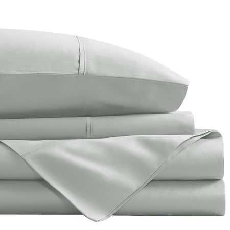 93450_Cathay_Home_1800_Series_100__Microfiber_Queen_Sheet_Set__Light_Grey